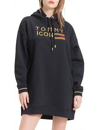 Tommy Icons Fleece Dress