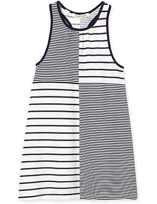 Stripe Splice Nightie