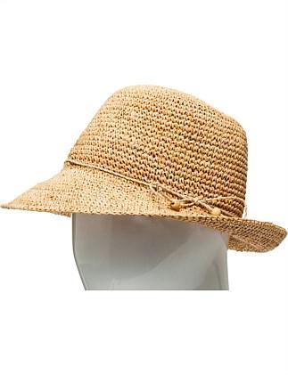 108eccb8ddc RAFFIA CROCHET BUCKET HAT