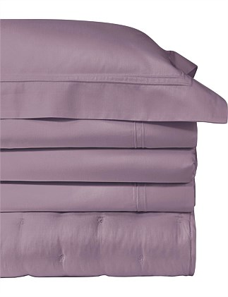 Triomphe Bruyere Queen Bed Flat Sheet 240x295