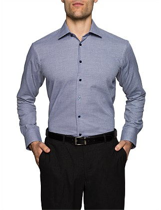 MICROCHECK SLIM FIT SHIRT
