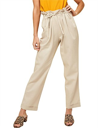 AT EASE SAFARI CROPPED PANT