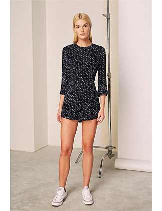 975949cd2d9 amore long sleeve playsuit Special Offer