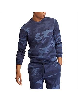 Camo Cotton-Blend Sweatshirt. Polo Ralph Lauren