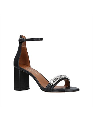 964f600d3a8f KURT GEIGER LONDON-QUEENIE-BLACK DJ On Sale