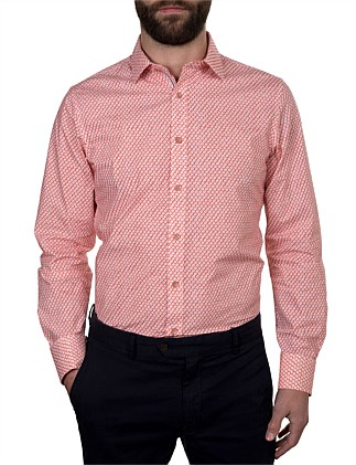 LOWAN BLOCKS PRINT SLIM FIT SHIRT