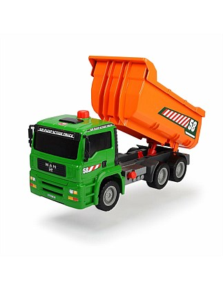 Air Pump and Dump Truck