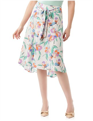 PARADISE FLORAL SKIRT