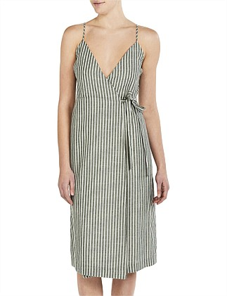 Malloy Wrap Dress