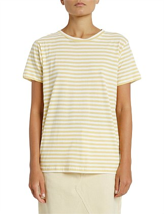 Harper Stripe Basic Crew