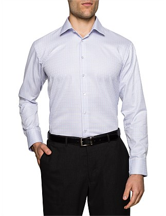 2 COLOUR CHECK SLIM FIT SHIRT