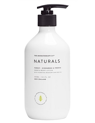 Naturals Hand & Body Lotion 400ml Forest Evergreen & Freesia