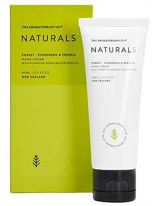 Naturals Hand Cream 80ml Forest Evergreen & Freesia