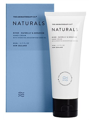 Naturals Hand Cream 80ml River Waterlily & Geranium