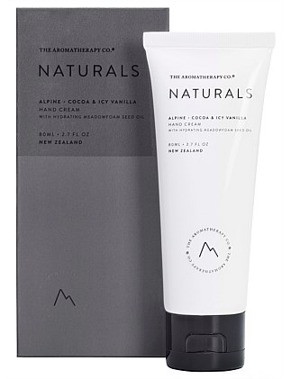 Naturals Hand Cream 80ml Alpine Cocoa & Icy Vanilla