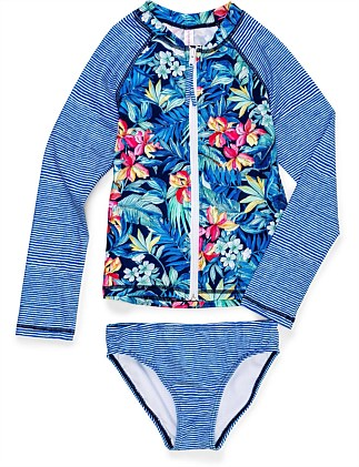 Pacifica Long Sleeve Rash Set