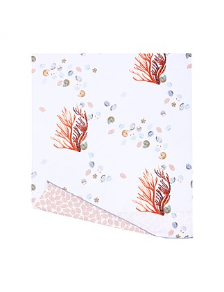 NAIADE QUEEN BED FLAT SHEET 240X295