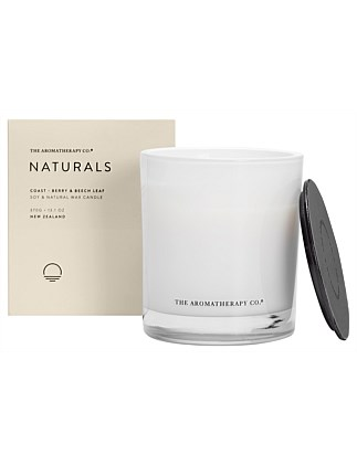 Naturals Candle 370g Coast Berry & Beech Leaf