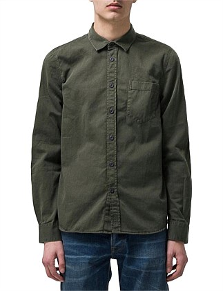 Henry Pigment Dyed Shirt