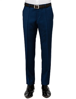 Griffin Wool Textured Pinspot Suit Trouser