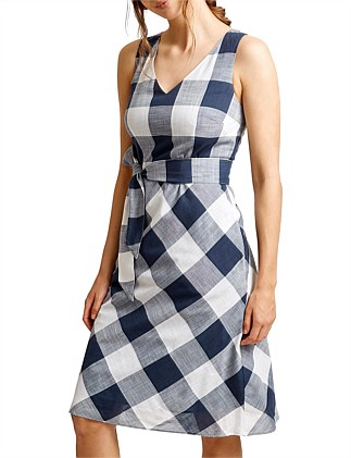 NAPOLI CHECK DRESS