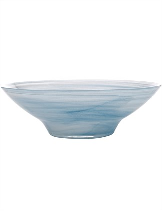 MW Marblesque Bowl 32cm Blue