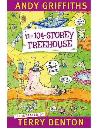 The 104-Storey Treehouse (Paperback Edition)