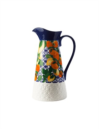 MW Positano Pitcher 2.4L Citrone Gift Boxed