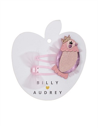 Bird Princess 2 Pk Clip Set
