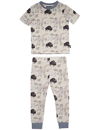 Howl Hoot Growl Pant PJ Set