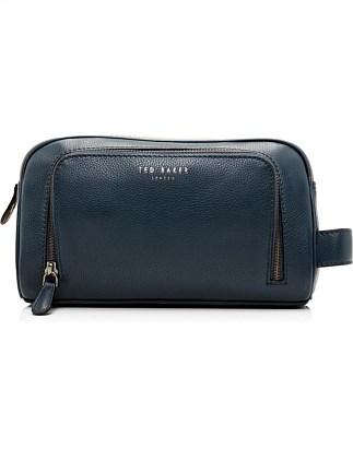 COLOURED LEATHER WASH BAG On Sale. Ted Baker 088d0149d32c9