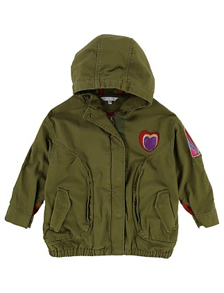 Pre Spring Parka(6-10 Years)