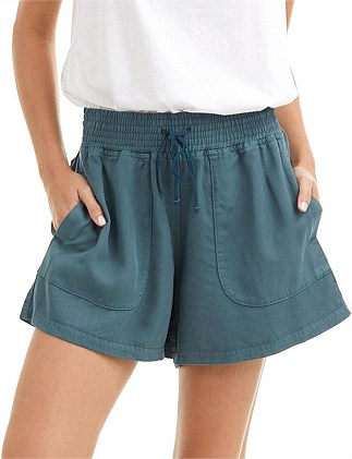 Elastic Detail Short