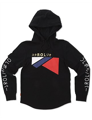 ROLER Triangle Hoodie (Boys 8-14 Years)