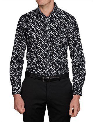 PUGET PRINT SUPER SLIM FIT SHIRT