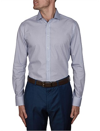 MATRICE PRINT SLIM FIT SHIRT