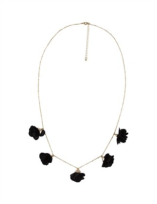FLOWER MID NECKLACE