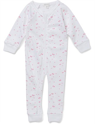 """Butterfly"" Footless Romper (Premi-9Months)"