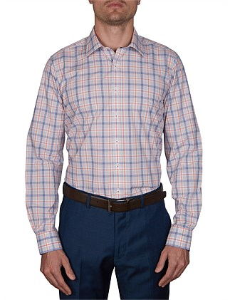 ABACO CHECK SLIM FIT SHIRT