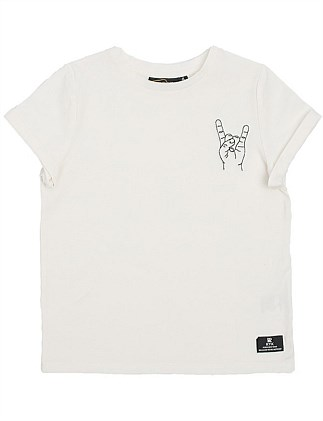 Rock On S/S T-Shirt (Boys 3-8 Years)