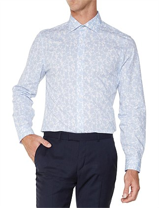 LS SHADOW FLORAL KINGS FIT SHIRT