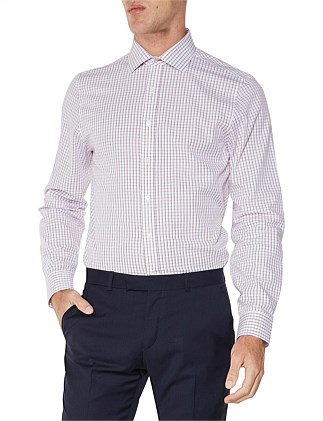 LS WINDOW CHECK KINGS FIT SHIRT