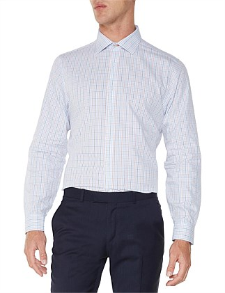 LS MULTI CHECK KINGS FIT SHIRT
