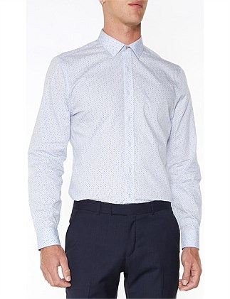 LS MULTI POLKA DOT CAMDEN FIT SHIRT