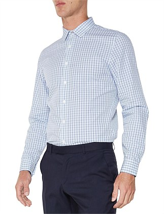 LS MULTI GINGHAM CAMDEN FIT SHIRT