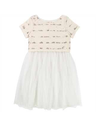 Ceremonie Ivory Dress(3-6 Years)