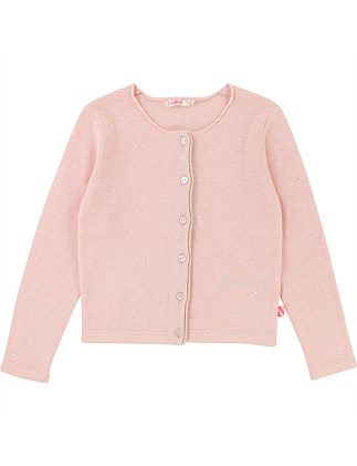 Spring Pink  Pale Fancy Cardigan(8-12 Years)