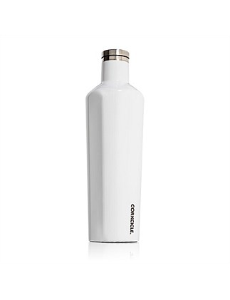 Corkcicle 25oz Canteen White
