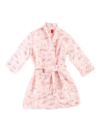 Girls' Swan Robe