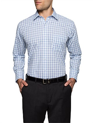 2 COLOUR CHECK CLASSIC FIT SHIRT